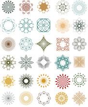 Set Of Ornamental Design Eleme...
