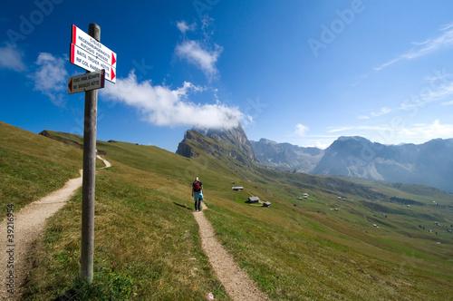 Photo  Geislergruppe - Dolomiten - Alpen