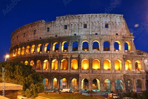 Fotografie, Obraz  Colosseo, Roma
