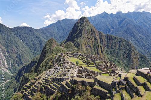 Terassen von Machu Picchu
