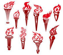 Flaming Torchs