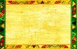 Leinwanddruck Bild - African national patterns