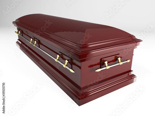 Fototapeta coffin