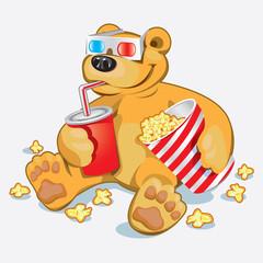 Smiješni medvjed