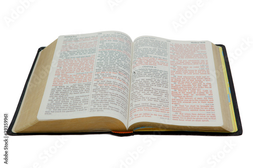 Bible Isolated on White