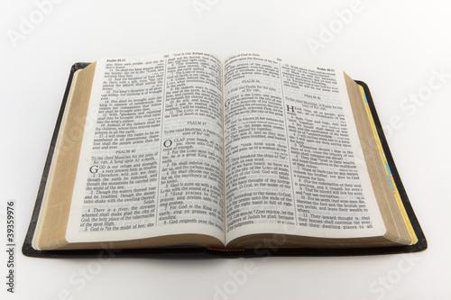 Fotografie, Obraz  Open Bible