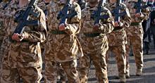 Irish Guards Returning Home From War