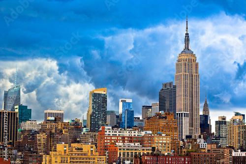 Manhattan - New York City Skyline Fototapet