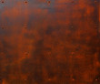canvas print picture - Rusted Steel Plate