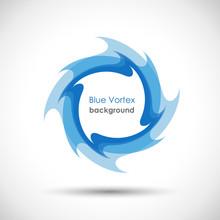 Logo Blue Vortex # Vector