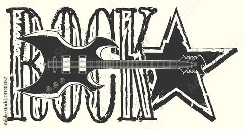 naklejka-na-koszulce-gwiazda-rocka