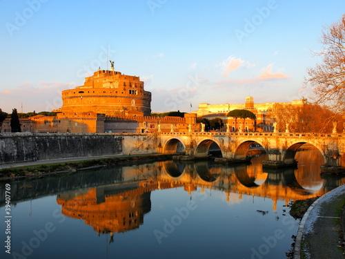 Castel Sant Angelo, Rome, Italy Wallpaper Mural