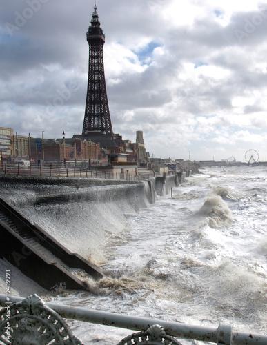 Papiers peints Paris Blackpool Tower