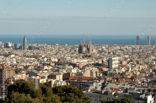 Photo sur Toile Europe Centrale Barcelone