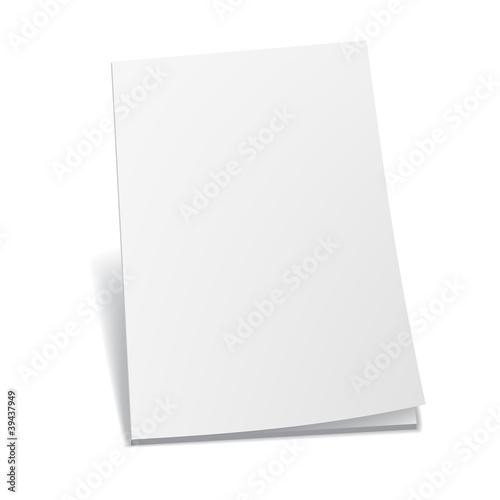 Photographie  Livres blancs vides