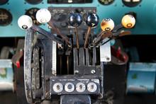 Cockpit Of Douglas DC-3