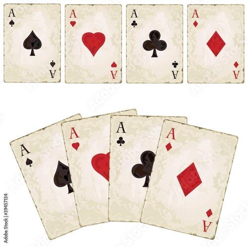 Photo  Vintage spades - poker