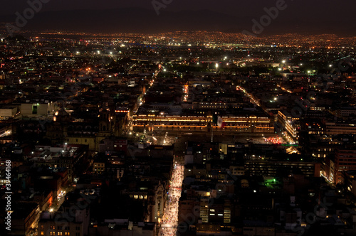 Mexiko City bei Nacht 2