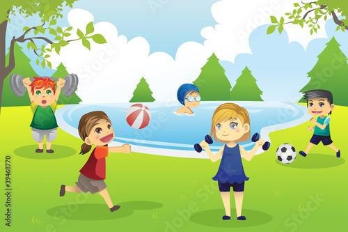 dzieci-cwiczyc-w-parku