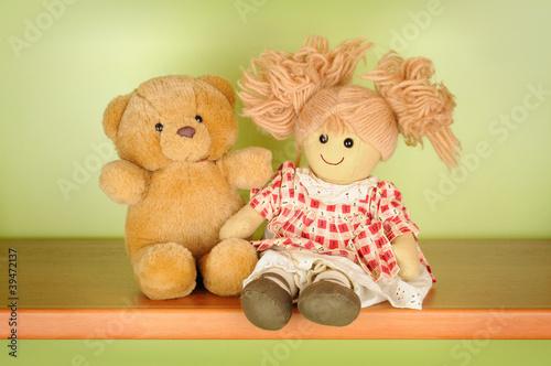 Картинки с куклами и мишками
