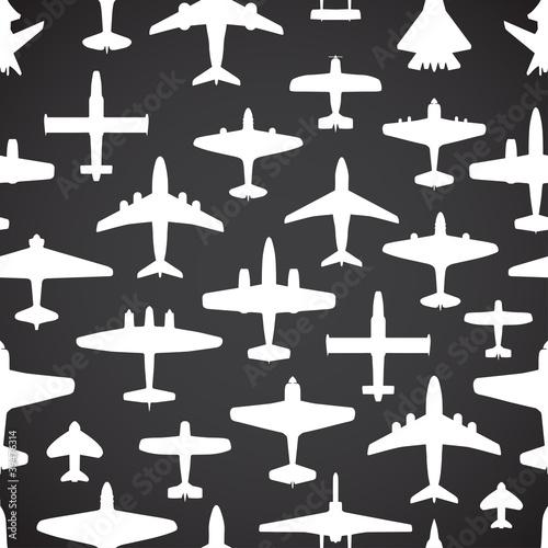 Tapety do pokoju chłopca samoloty-transportowe-i-marynarki-wojennej-bez-szwu-ba