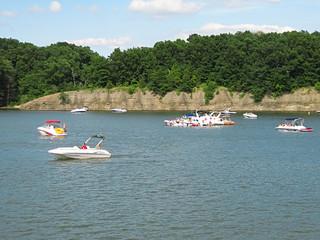 Fototapeta na wymiar Motorized Boats