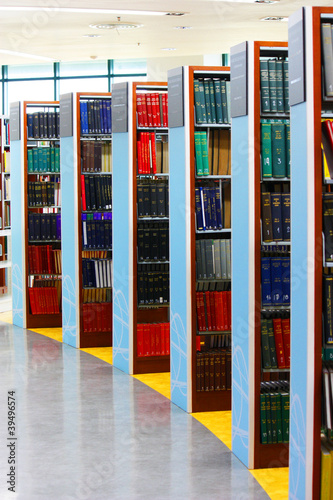 Poster Bibliotheque library