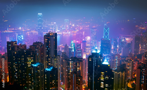 Hong Kong Nght View