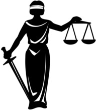 Symbol  Justice Statue With Sword
