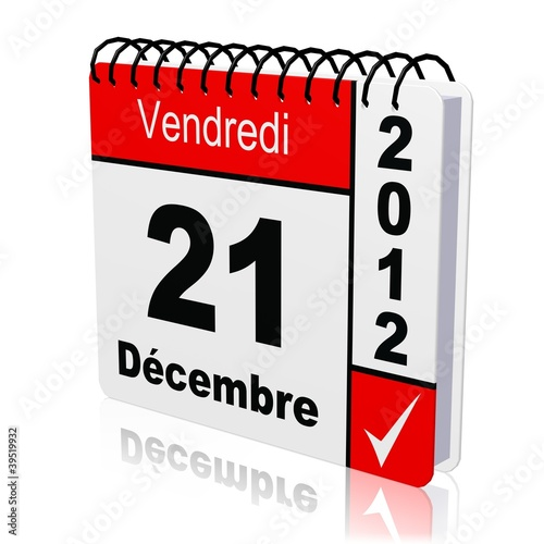 Calendrier Case.Calendrier 21 12 2012 Case Buy This Stock Illustration And