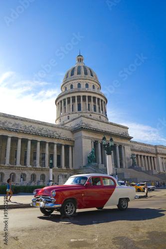 The Capitol of Havana, Cuba. Canvas Print