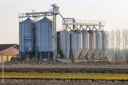 Grain Silo For Sale