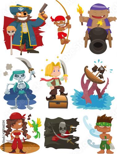 zestaw-ikon-pirat-kreskowka
