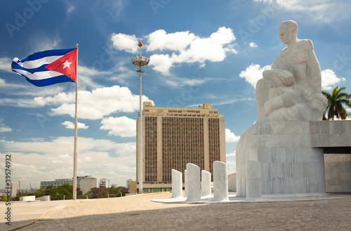 Poster Havana The Revolution Square in Havana