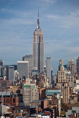 Tuinposter New York City Skyline von Manhattan, New York City