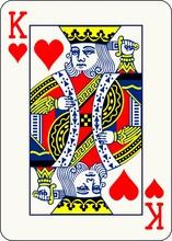 King Of Hearts - Vector Illust...
