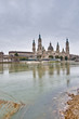Our Lady of the Pillar Basilica at Zaragoza, Spain