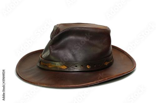 Poster de jardin Vache australien,cowboy,chapeau,cuir,aventure,explorateur
