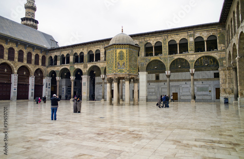 Dome of the Treasury, Omayyad mosque, Damascus