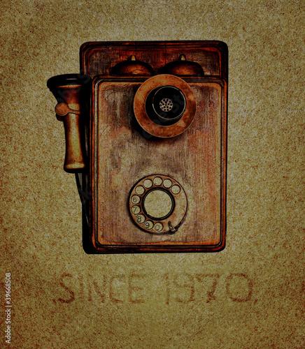 Fotografia  Telephone retro