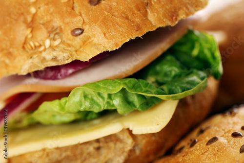 Staande foto Snack Homemade sandwiches