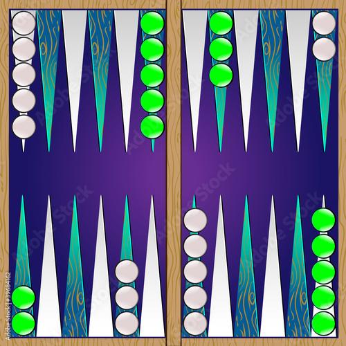 Slika na platnu backgammon