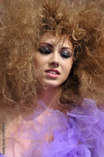 Fototapety, obrazy: beauty, fashion, face, girl, glamour, model, sensuality