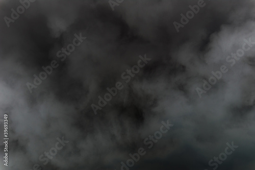 Poster Fumee Black Smoke background abstract