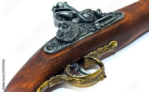 Photo Blunderbuss Pistol Detail