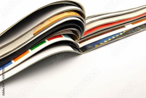 Revistas Canvas Print