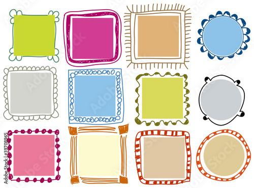 Fototapeta  Doodle frames