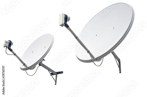 Fotografía  satellite dish antenna