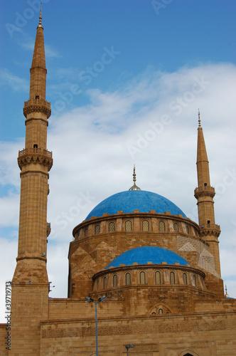 Fotografie, Obraz  Moschee El-Amin, Beirut
