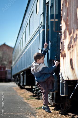 Fotografie, Obraz  Train Ride